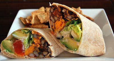 Chipotle bean burritos   Mexican food&Wraps   Pinterest