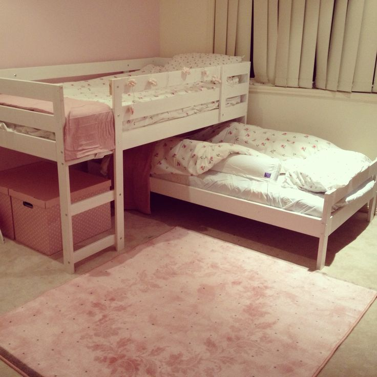 Ikea mydal bunk hack ayla 39 s unisex nursery decoration pinterest - Ikea bunk bed room ideas ...