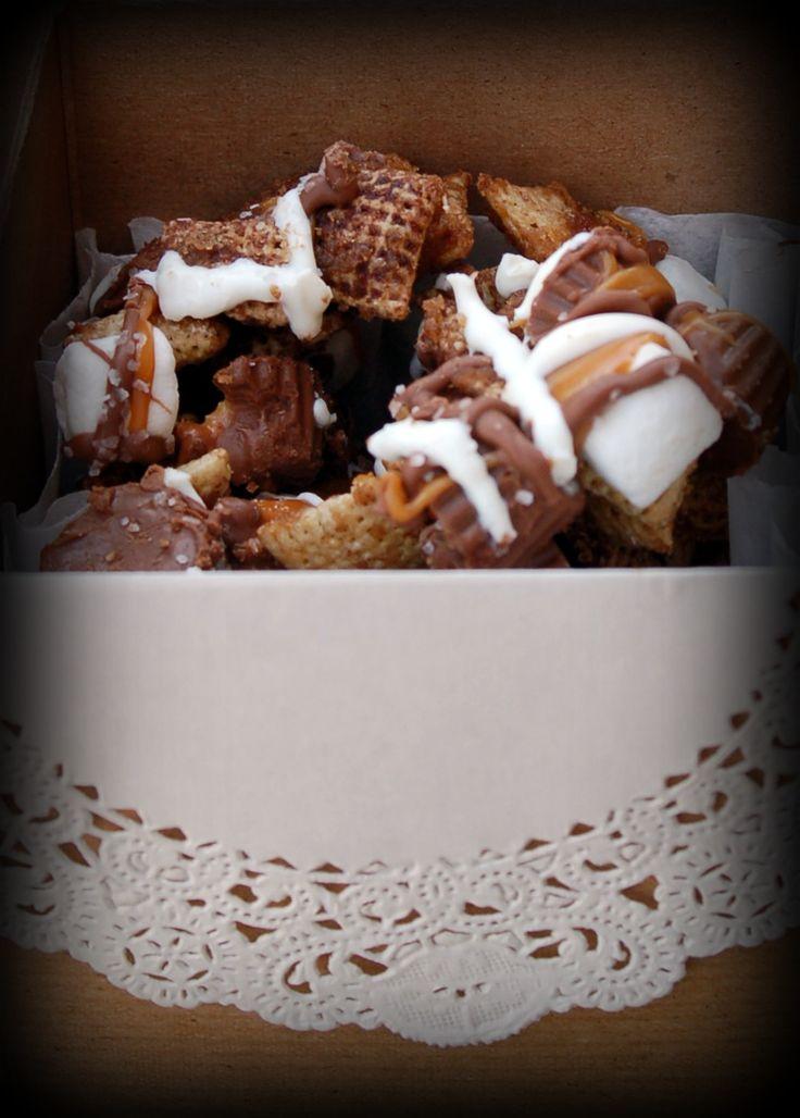 Chex Mix~Yummm | food | Pinterest