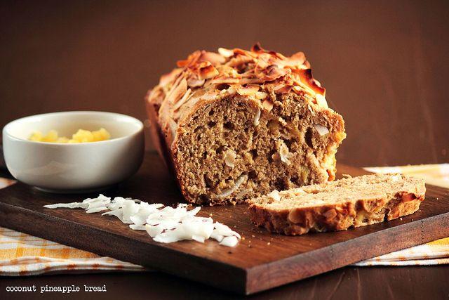 Coconut Pineapple Banana Bread | Bakery Story | Pinterest