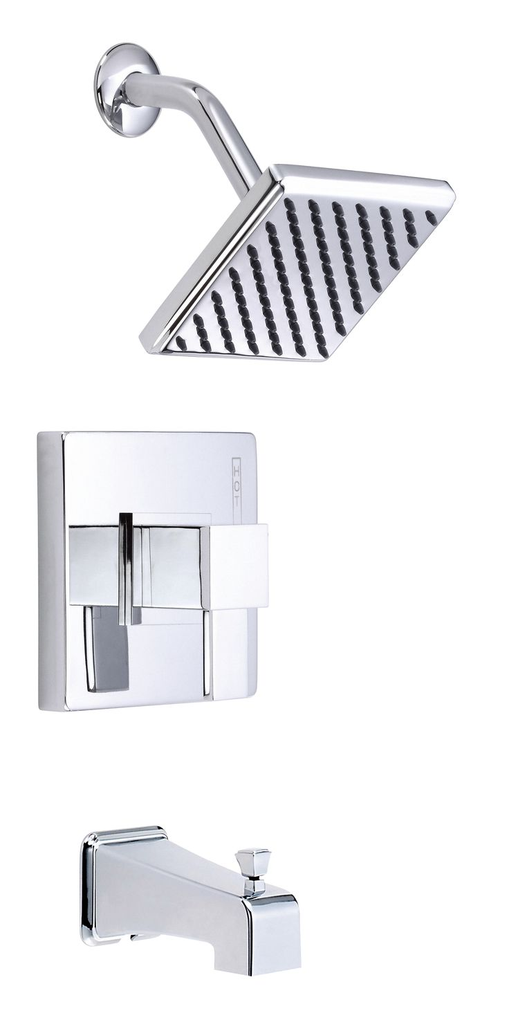 Danze Reef Chrome Single Handle Tub And Shower Combo Faucet