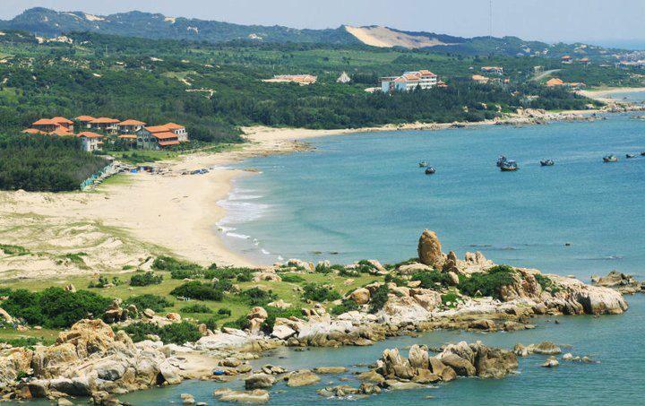 Bãi biển Lagi tỉnh Bình Thuận