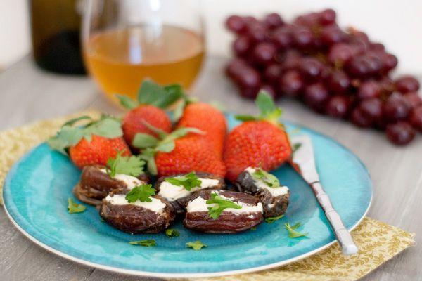 Sweet and savory stuffed dates recipe   Favorite Recipes   Pinterest