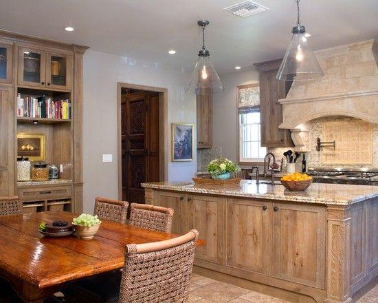 Brilliant Whitewash Oak Cabinets Design to Complete Your Kitchen