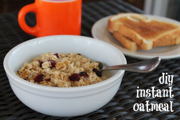 DIY instant oatmeal | One Ordinary Day
