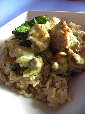Basil Chicken in Coconut Curry Sauce | Mmmmm | Pinterest
