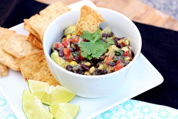 Black bean, corn and avocado salad #vegetarian #summer # ...