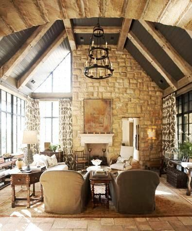 Beautiful Great Room Tudor Cottages And Interiors
