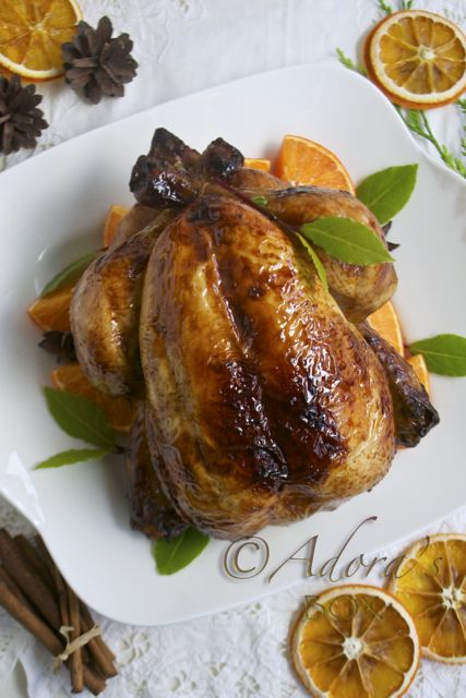 CHRISTMAS SPICED ROAST CHICKEN | I will be making this...someday | Pi ...