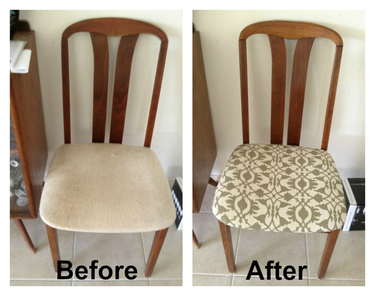 Revamping Dining Room Chairs For The Home Pinterest