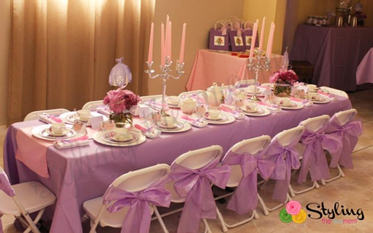 Sofia The First Birthday Table Decorations Photograph Sofi
