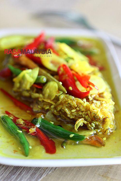 Nyonya Acar Fish Recipe | http://rasamalaysia.com