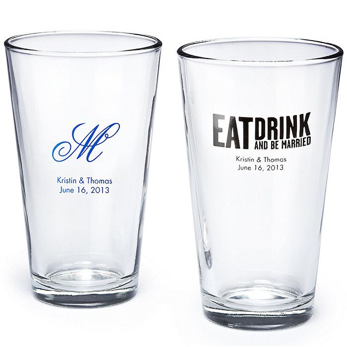 Wedding Gifts Glasses Personalized : Found on weddingshop.theknot.com