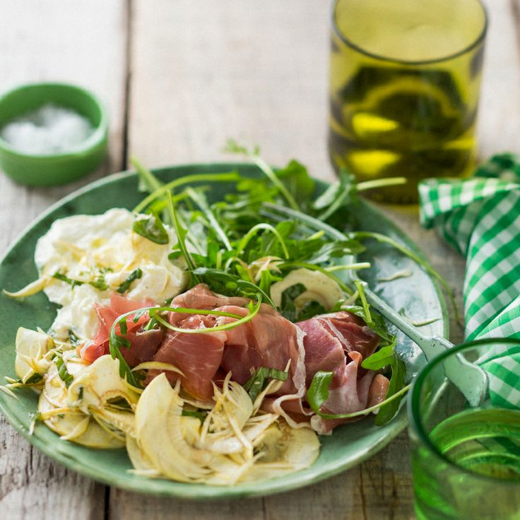 An elegant easter salad for an intimate dinner for four recipe