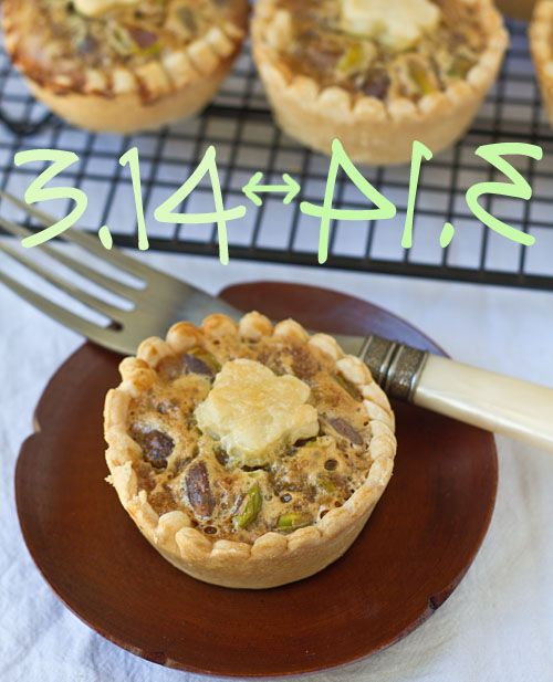 Mini Honey Pistachio Pies | Pies and Pastries | Pinterest