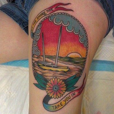By Justin Dion at Anatomy Tattoo in Portland, Oregon.