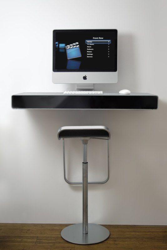 Wall Mounted Desk Computer Desk Pinterest