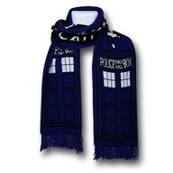 Doctor Who TARDIS Scarf!