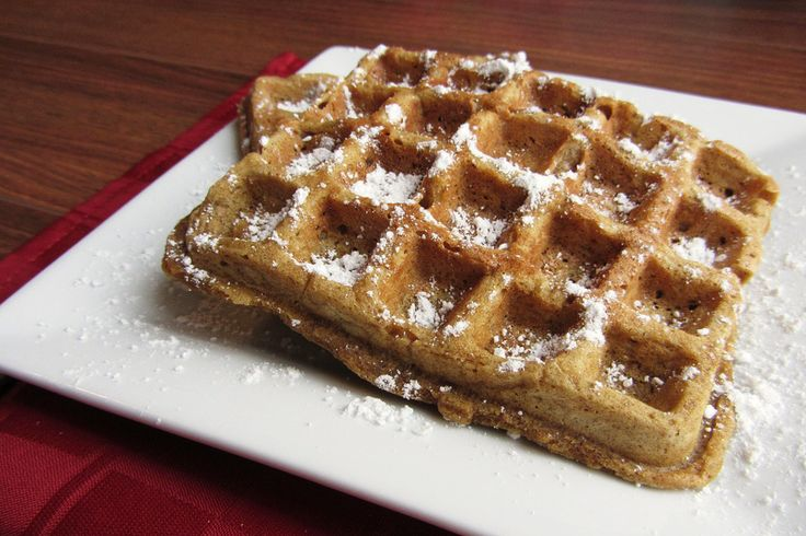 Gingerbread Waffles | Breakfast | Pinterest