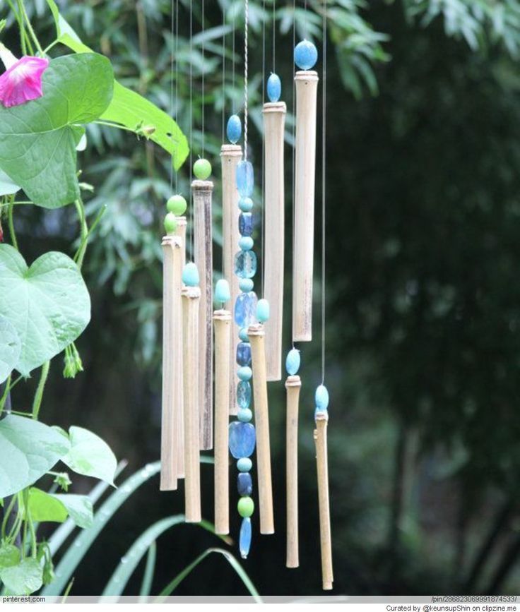 Bamboo crafts diy pinterest for Crafts using bamboo