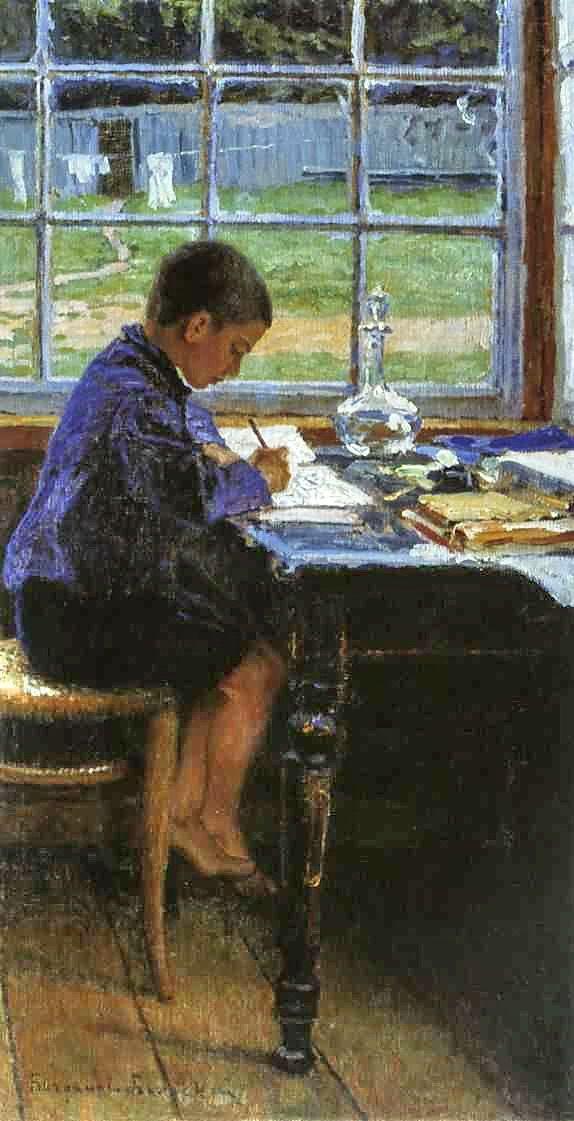 Nikolay Bogdanov-Belsky - Doing the Lessons