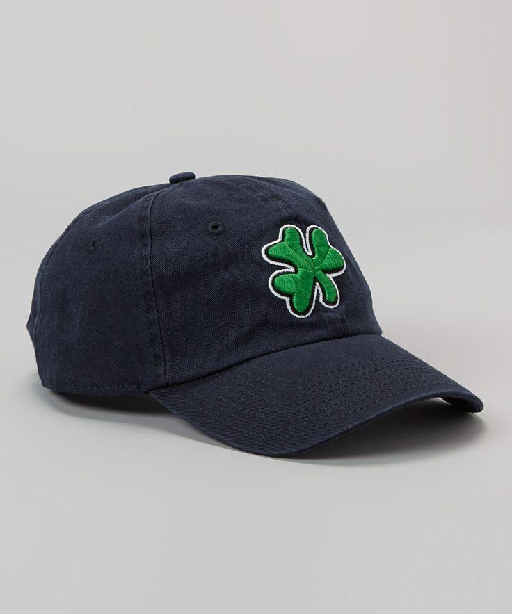 blue shamrock baseball cap