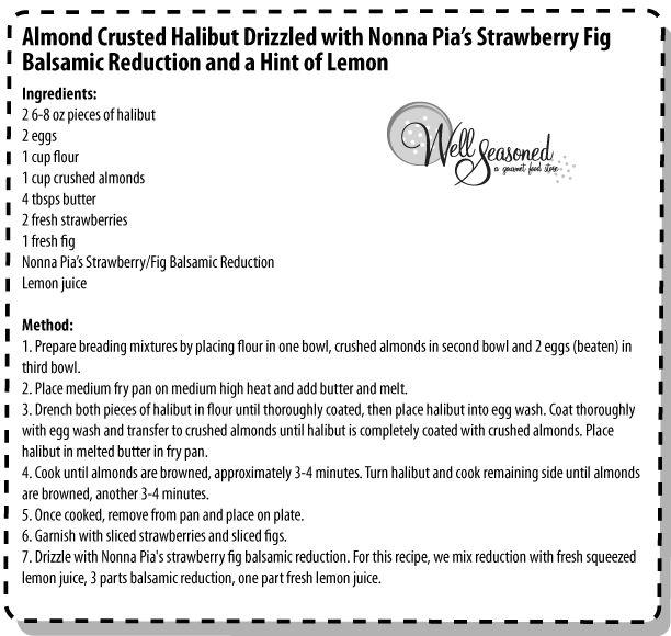 Almond Crusted Halibut | Recipe Love - Mains | Pinterest