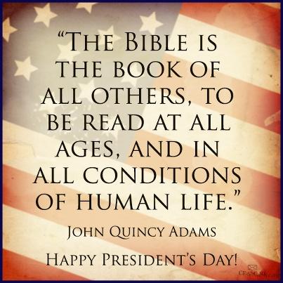 Bible Quote John Quincy Adams