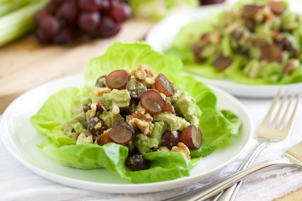 Healthy Chicken Salad. Omit walnuts for AIP. Maybe substitute with ...