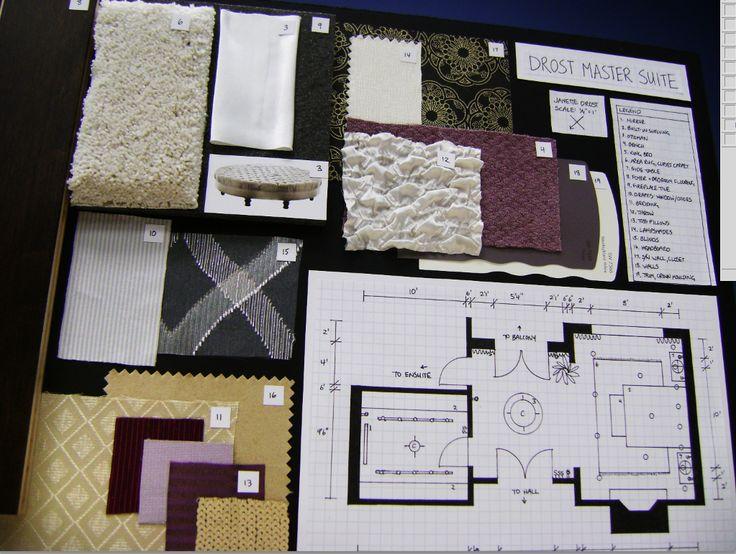 Concept Board Housing Interior Design Facs Pinterest