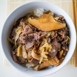 Gyudon (Japanese Beef Rice Bowl) by cooksnapsavour | i love food ...
