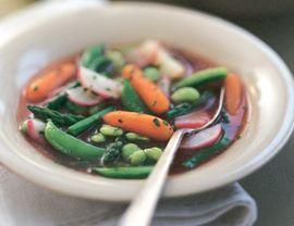 Spring Vegetable Sauté Recipe   Vegetarian Times