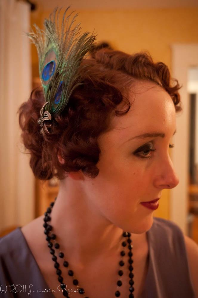 1920s Flapper Hair