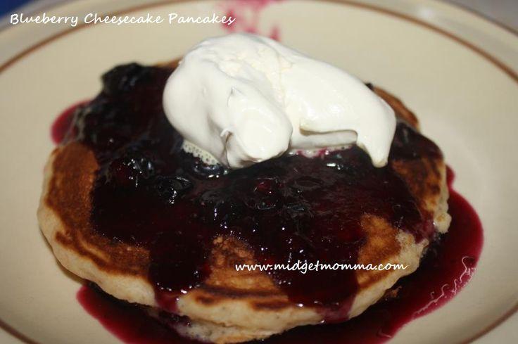Recipe} Blueberry Cheesecake Pancakes