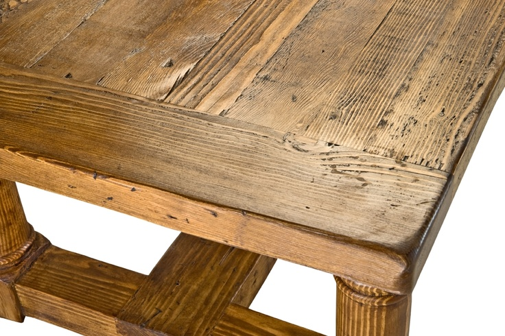 Reclaimed Wood Stretcher Dining Table Products I Love  : 5098c0843302765c812263949e8b32ab from www.pinterest.com size 736 x 490 jpeg 177kB