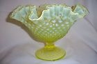 "Topaz 10"" footed bowl - Love the yellow!"