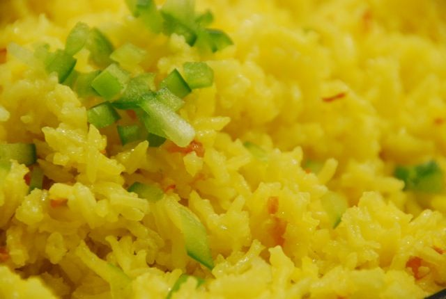 Pati's Mexican Table: Old World and New World: Yellow Rice