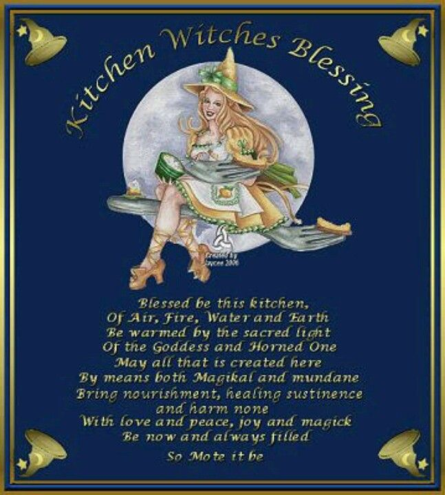 kitchen witch pagan magic spells wiccan pinterest