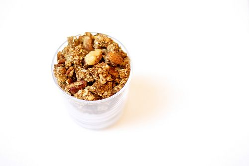 ... use for overripe bananas - vegan & gluten-free banana nut granola