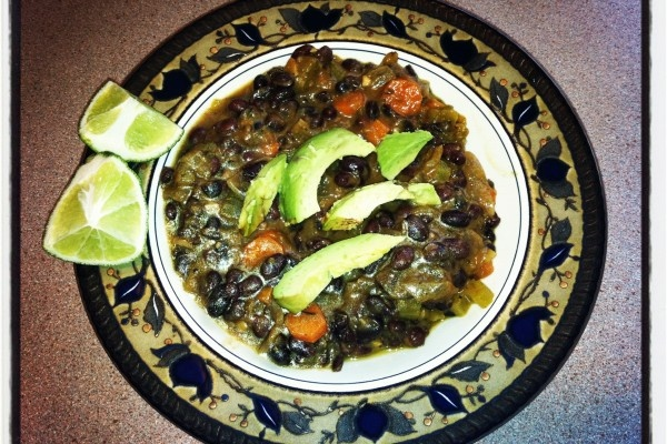Black Bean and Vegetable Soup | My Recipes illumewellness.com | Pinte ...