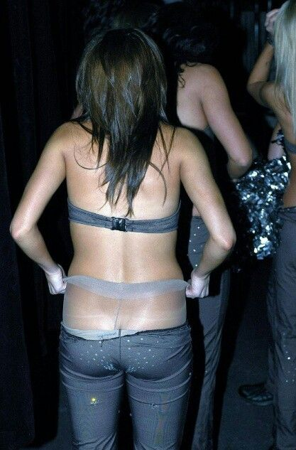 Under The Pantyhose It 75