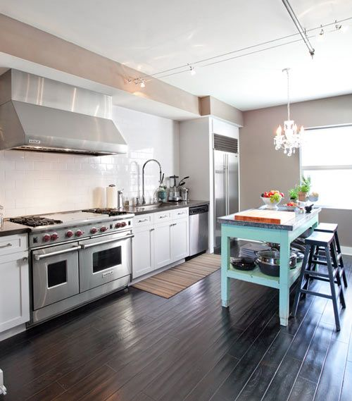 Kitchen + Teal  Our home  Pinterest
