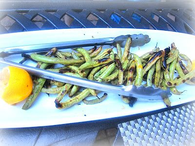 GREAT GRILLED GREEN BEANS | ...FOOD BUZZ | Pinterest