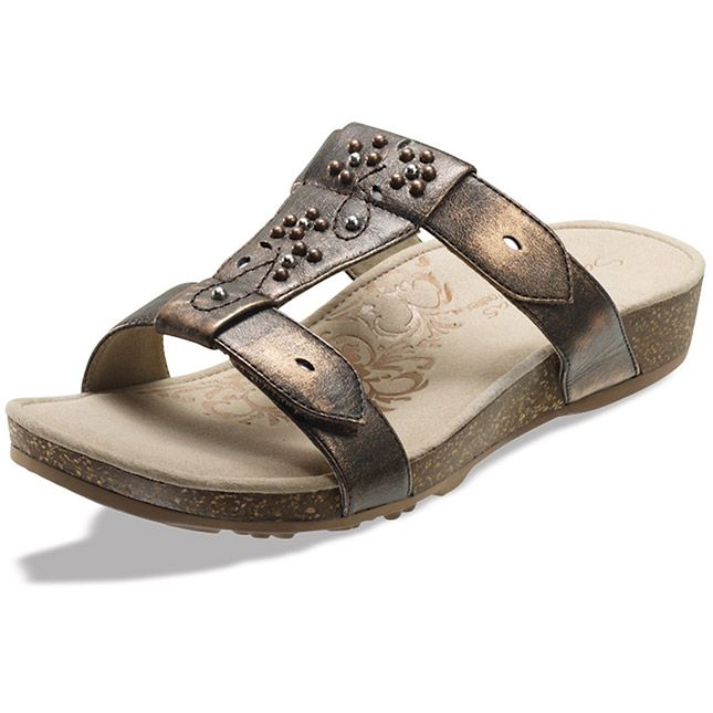 Aetrex #shoes Nikki in Bronze $99.95. . Great arch support and comfort