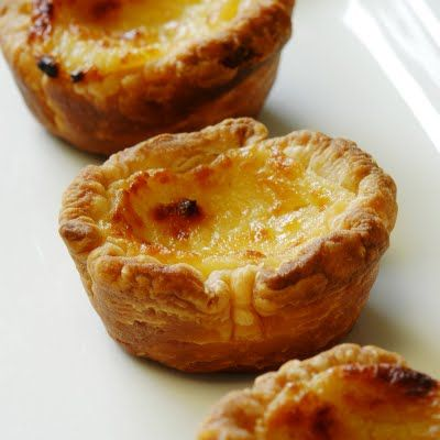 Portuguese Custard Tarts Recipe (Jules Food)