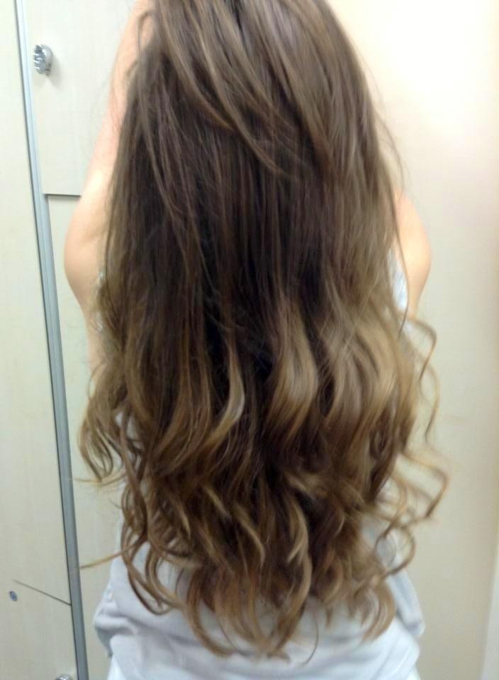 Subtle ombre hair brunette the image kid has it - Ombre hair brune ...