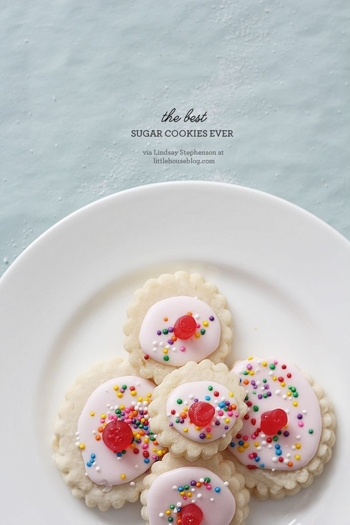 the best sugar cookies ever The whole recipes is at http://porkrecipe ...