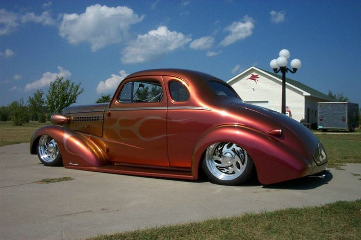 1938 chevy 5 window business coupe rods pinterest