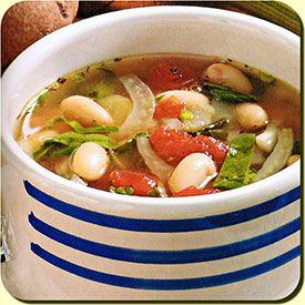 White Bean Fennel Soup | stuff | Pinterest