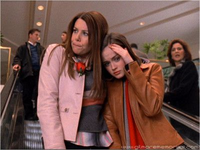 avoiding Emily, Gilmore girls